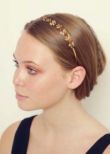 Gold Sara Hairband