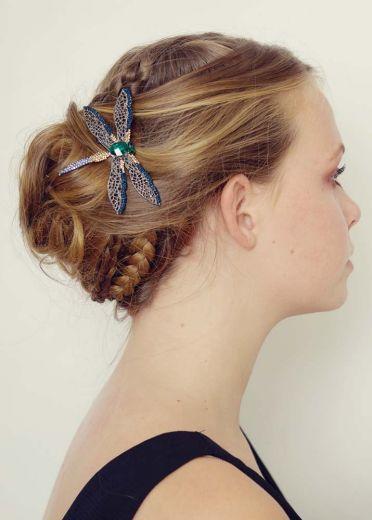 Oceana Dragonfly Hairclip & Brooch