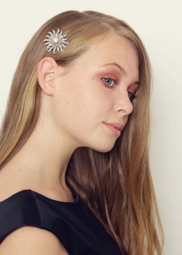 Pearl Star Hairclip & Brooch
