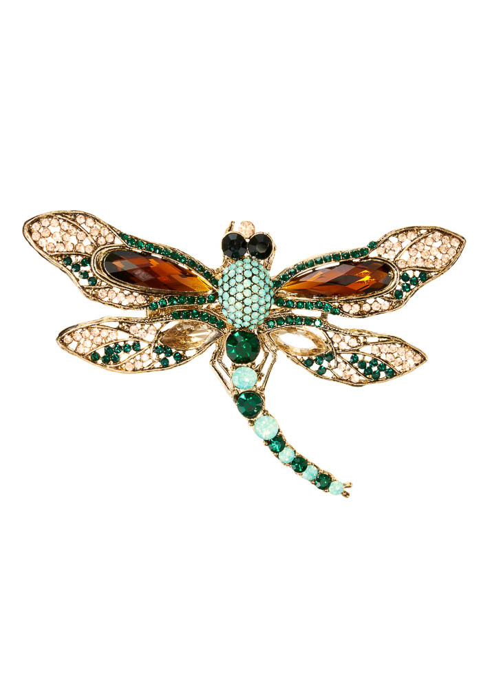 Imperial Dragonfly Hairclip & Brooch