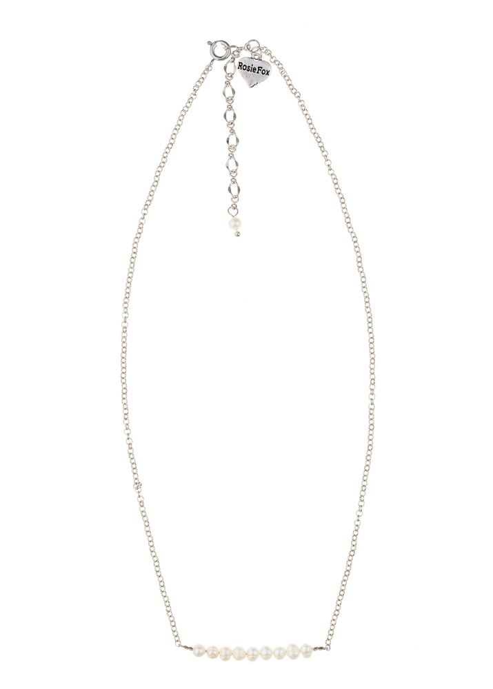 Freshwater Peal Bar Necklace