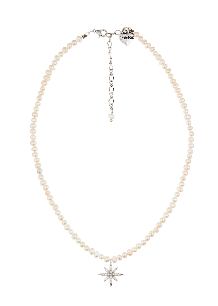 Freshwater Pearl Star Necklace