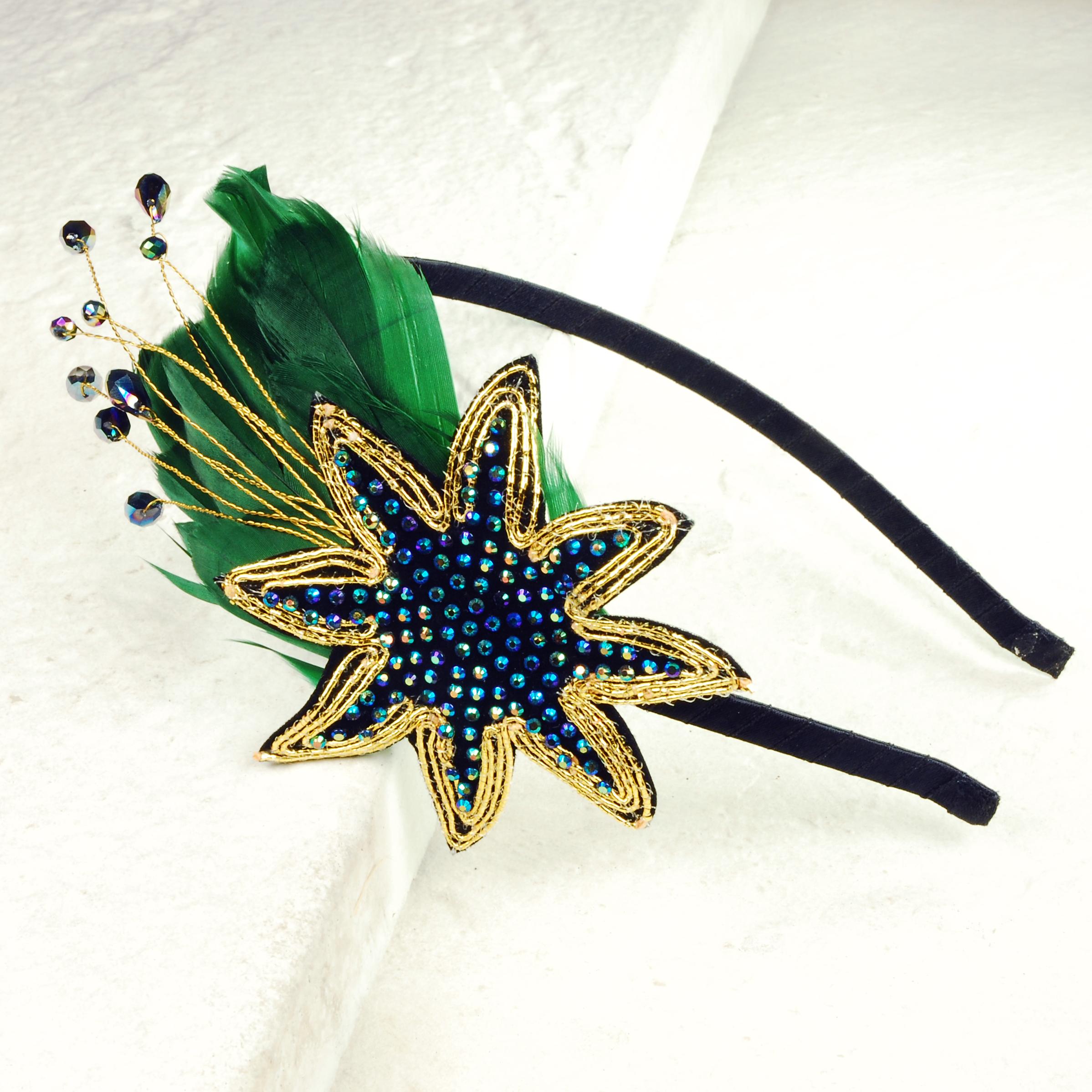 Emerald Star Hair band