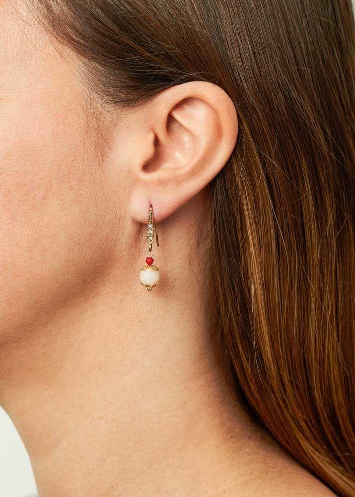 Ruby Rose Earrings