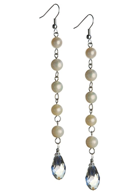 pearls bead chandelier ball back studs trend accessories wholesale temperament tassels long dangle product china pearl eardrop fashion wire earrings drop ear from