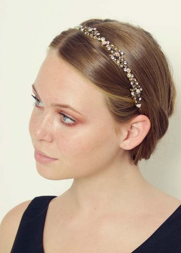 Gold Tamara Hairband