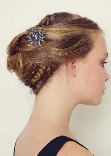 Night Star Hairclip & Brooch