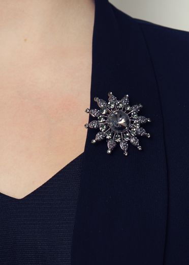 Night Star Hairclip & Brooch