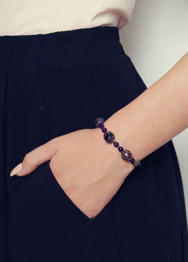 amethyst vintage bracelet