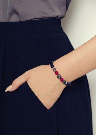 Midnight Agate Gemstone Bracelet
