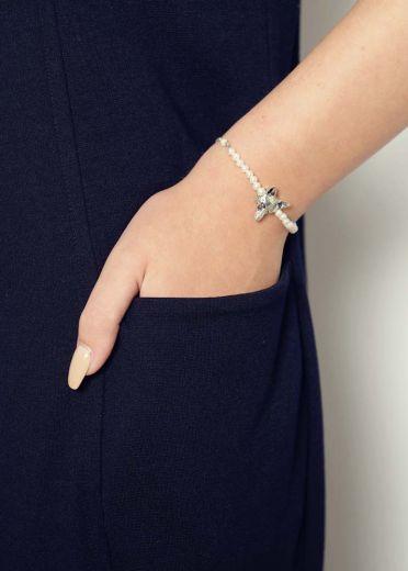 Freshwater Pearl Fox Chain Bracelet