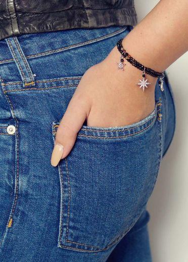 Cafe Noir Star Charm Bracelet