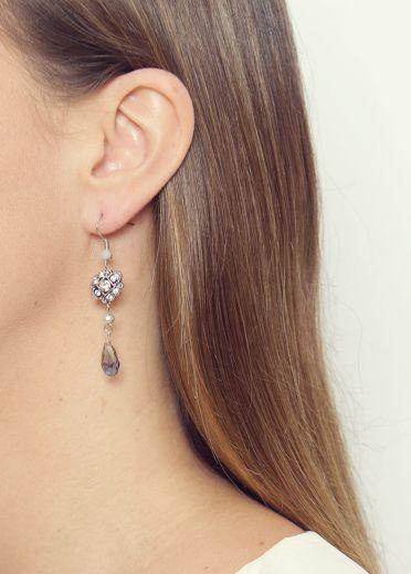 Vintage Amazonite Earrings