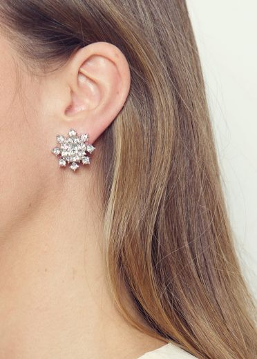 Fairytale Crystal Stud Earrings