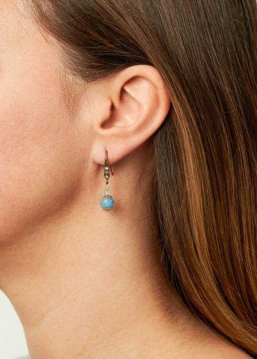Sky Gemstone Earrings