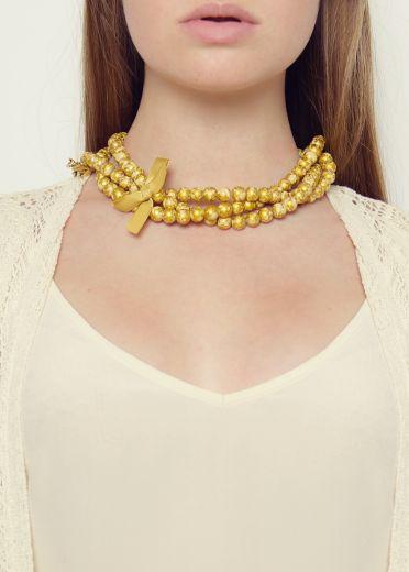 Golden Foxy Lady Necklace