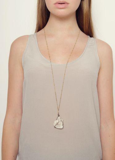 Quartz Rock Necklace