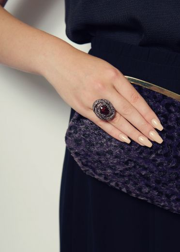 Plum Lulu Ring