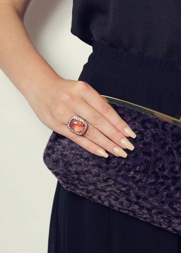 Pastel Pink Stretch Ring