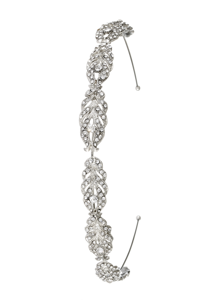 Art Deco Crystal Hairband