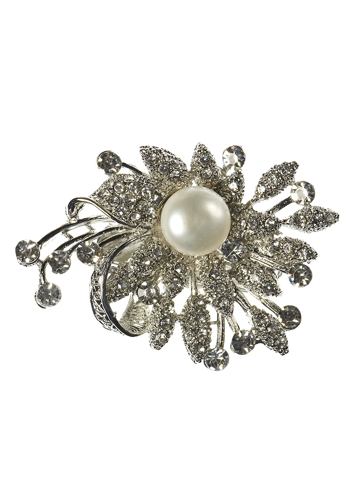 Freshwater Pearl Bouquet Hair Clip and Brooch