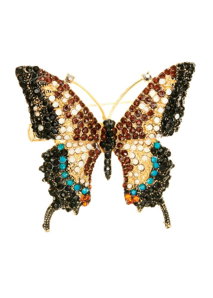 Imperial Butterfly Hairclip & Brooch