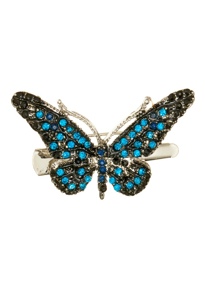 Ocean Mini Butterfly Hairclip & Brooch
