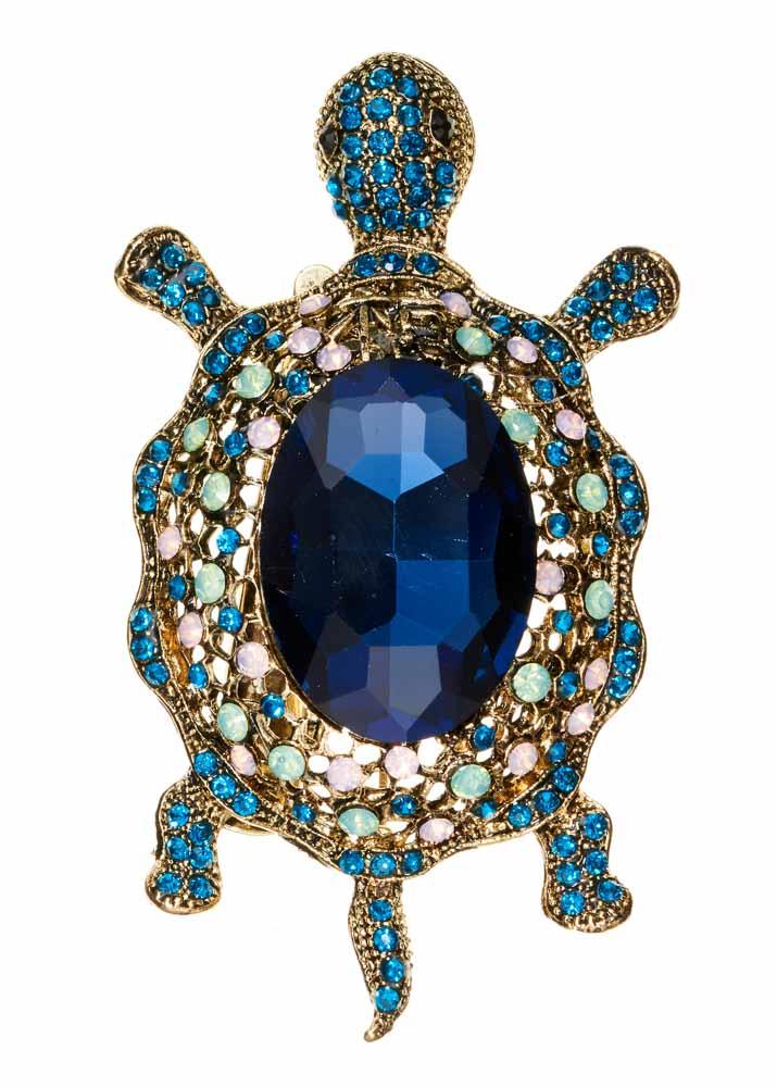 Opal Turtle Hairclip & Brooch