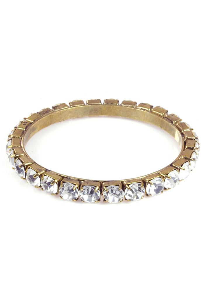 Single Crystal Bracelet