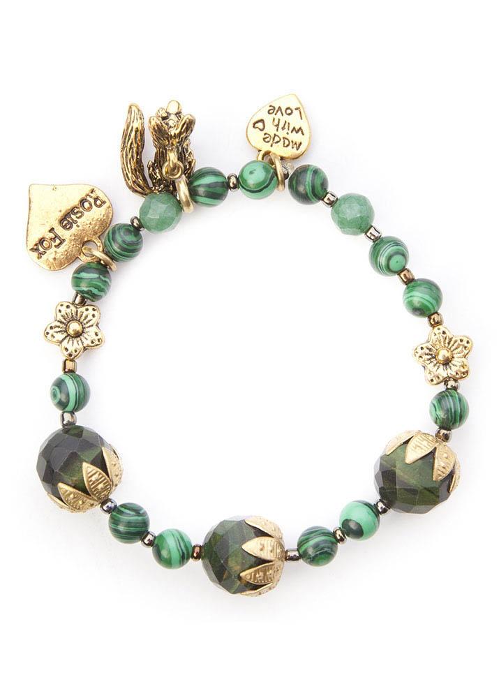 Malachite vintage bracelet