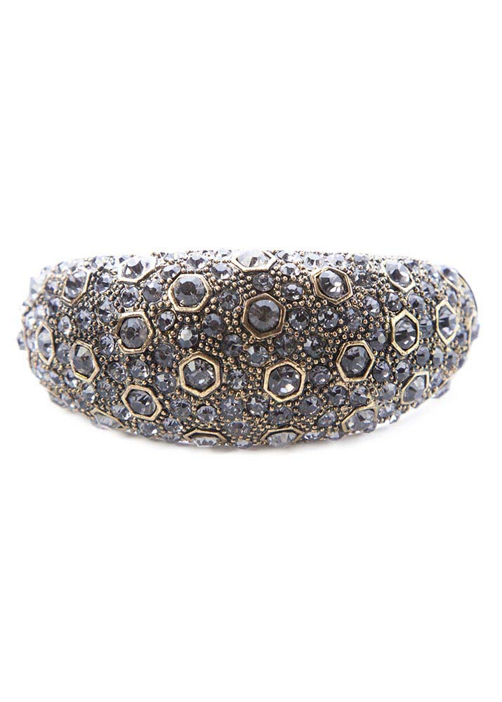 Crystal detailed cuff