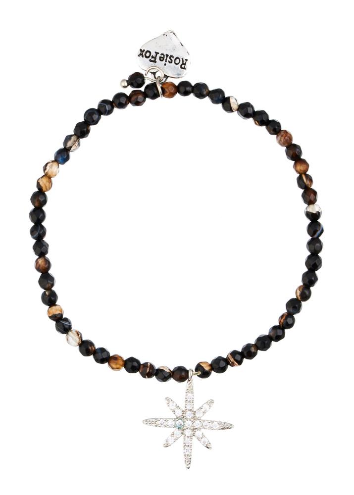 Cafe Noir Star Agate Bracelet