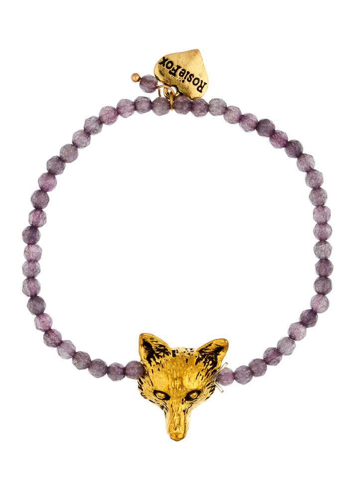 Dove Fox Agate Bracelet