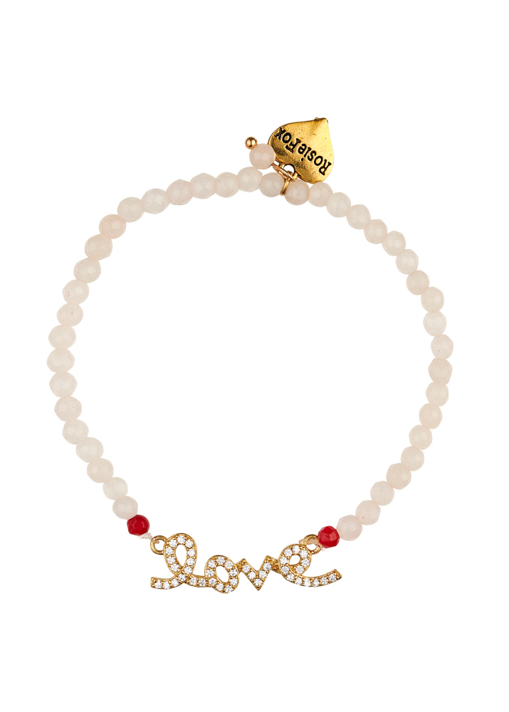 Ruby Rose Love Bracelet