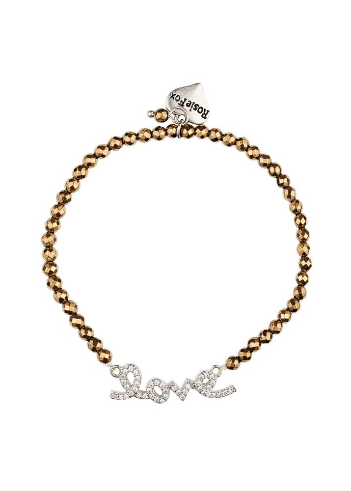 Pyrite Love Bracelet