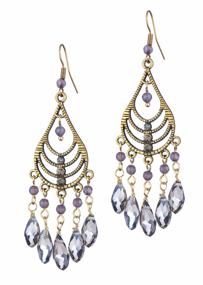 Dove Chandalier Earrings