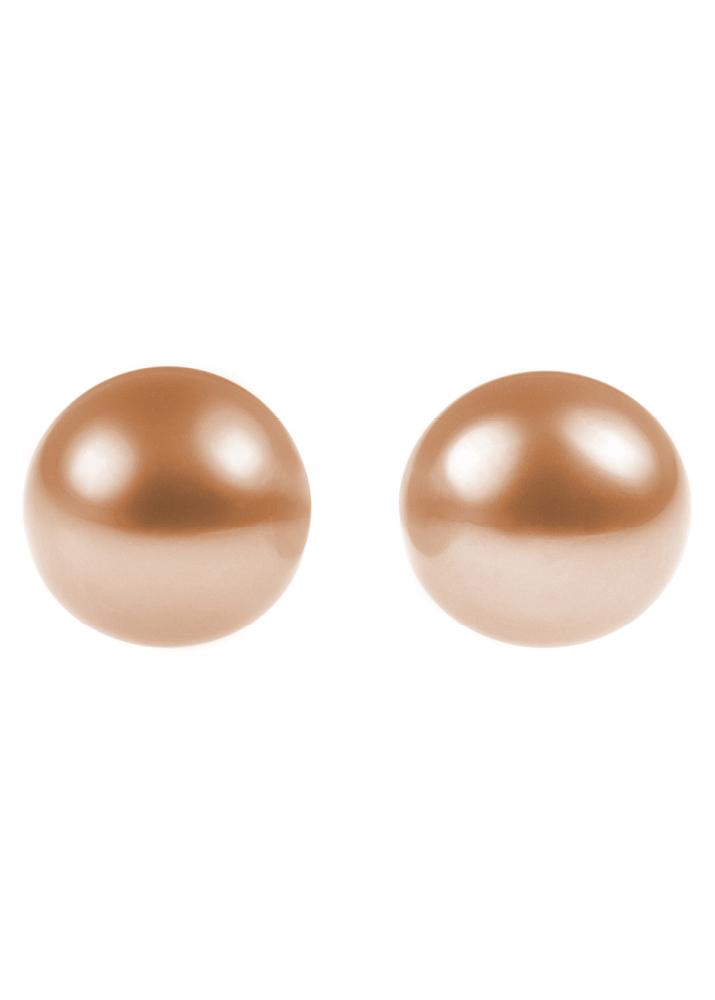 Pink Freshwater Pearl Stud Earrings