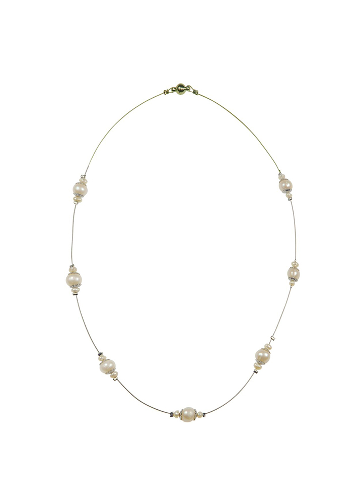 Ivory Pearl Strand Necklace