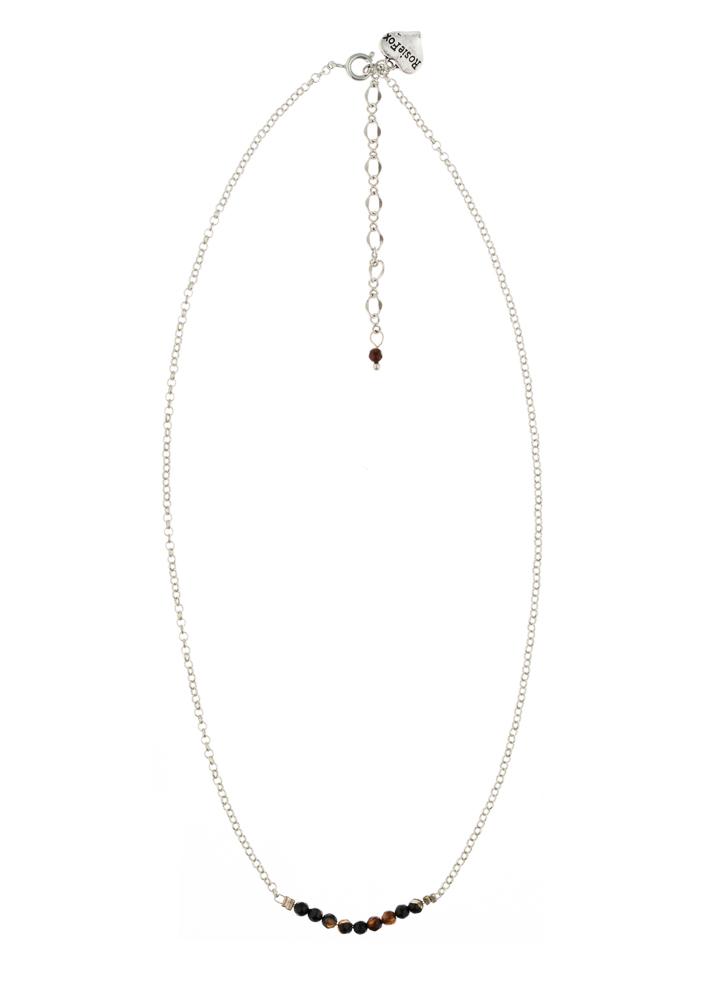 Cafe Noir Agate Bar Necklace