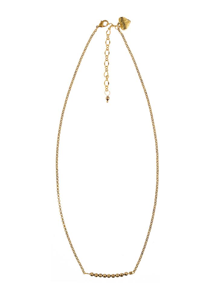 Pyrite Bar Necklace