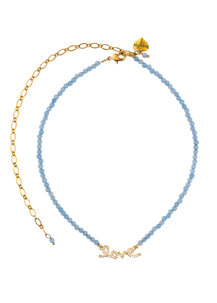 Sky Love Gemstone Necklace