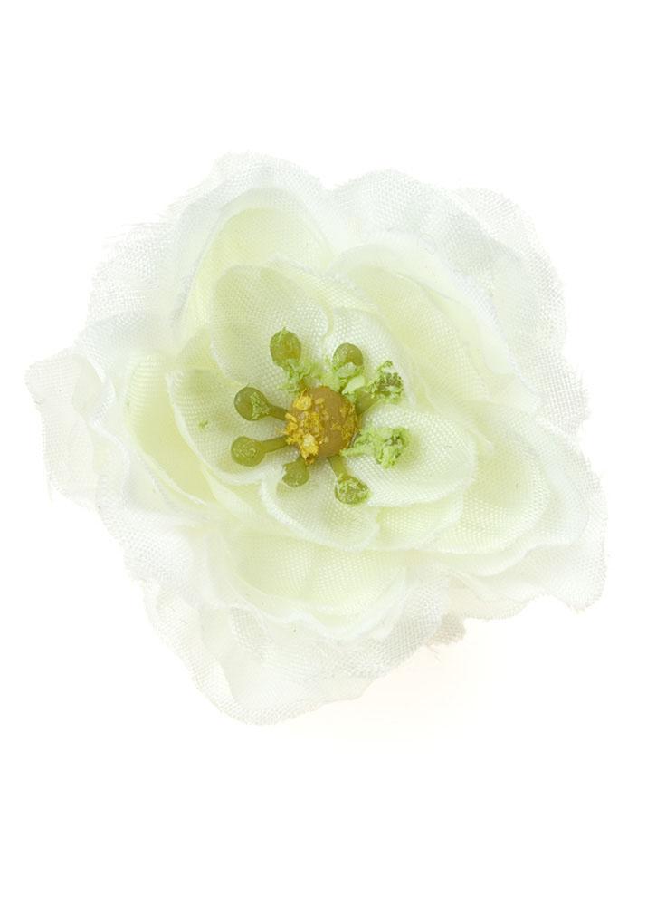 White Blossom Hair Clip & Corsage