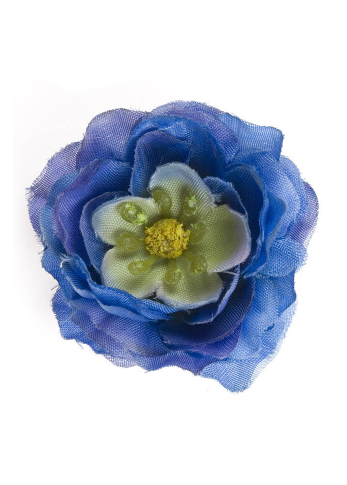 Blue Blossom Hairclip & Corsage