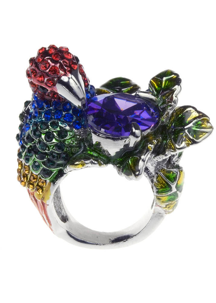 Exotic Parrot Ring