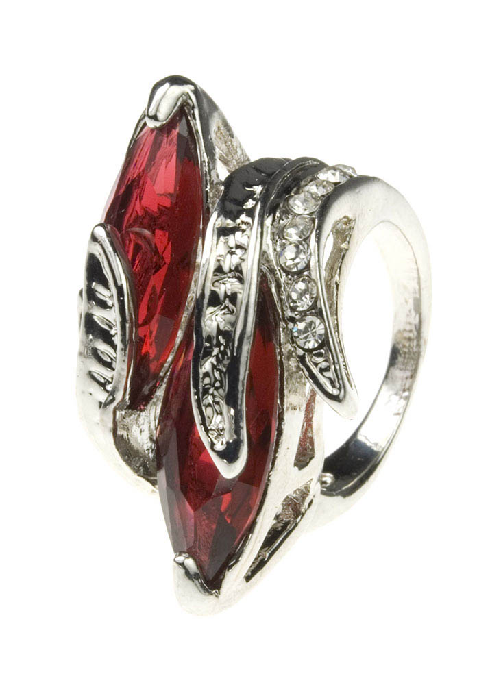Twin Ruby Ring