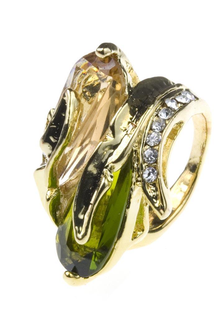 Twin Emerald Ring