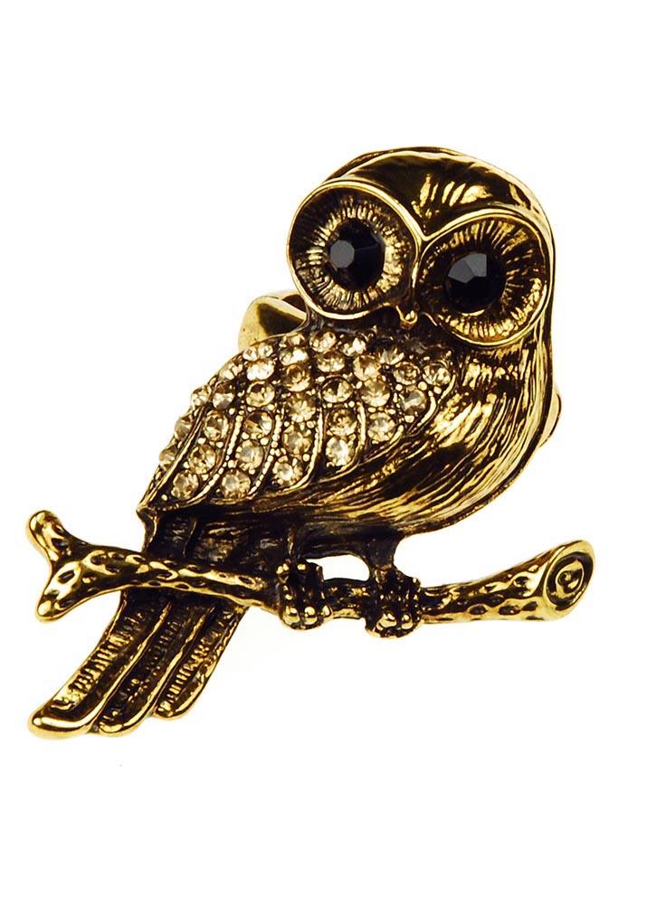 Bubo Owl Ring