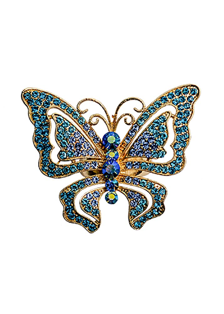 Sapphire Butterfly Stretch Ring